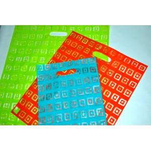 8f961743e Bolsa de plástico cuadros fondo verde 45x55 - ANDREA VICTORIA GARCÍA ...